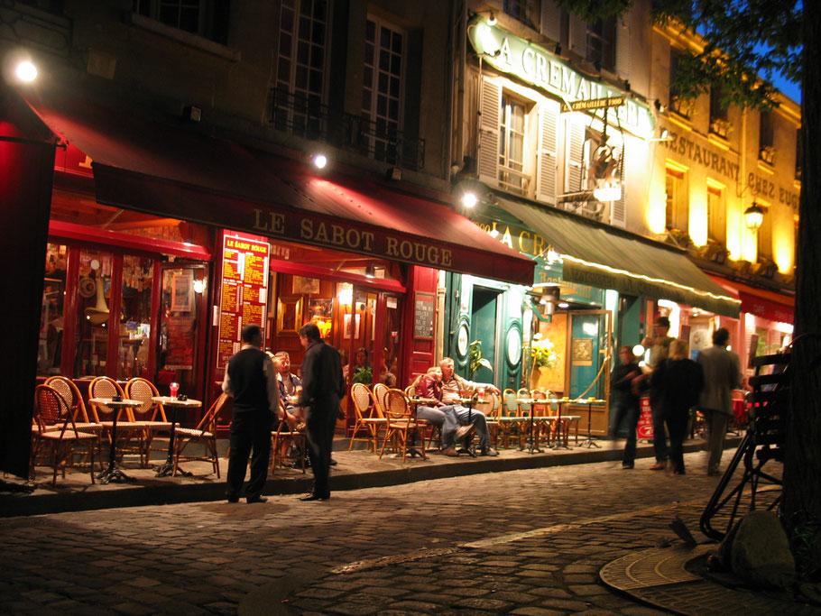 Bild: Abends am Place Tertre