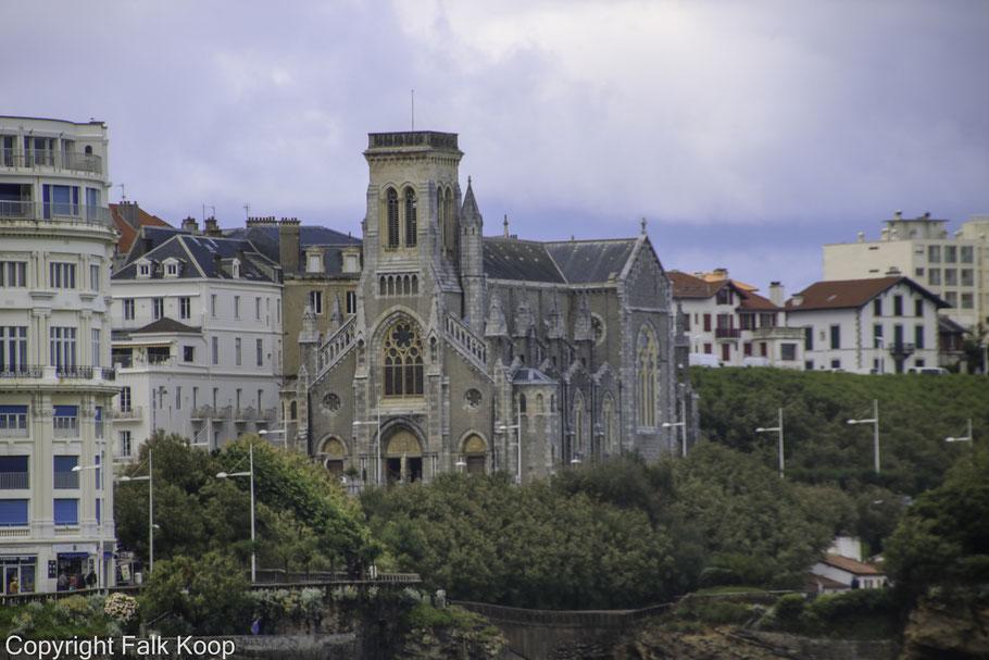 Bild: Église Sainte-Eugénie de Biarritz in Biarritz