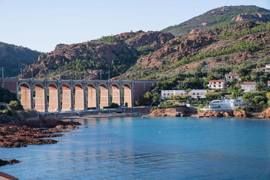 Bild: Viadukt von Anthéor, Massif de l´Estérel