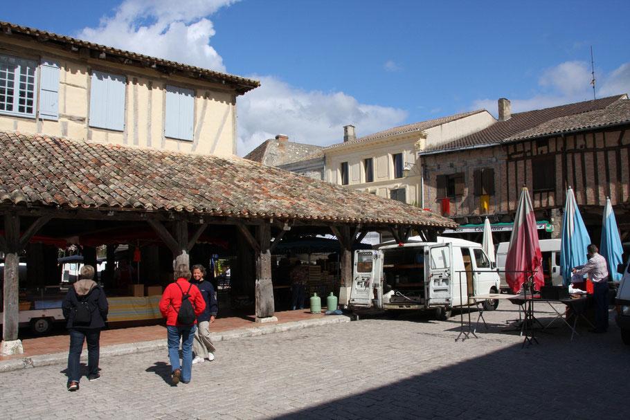 Bild: Villeréal im Departement Lot et Garonne