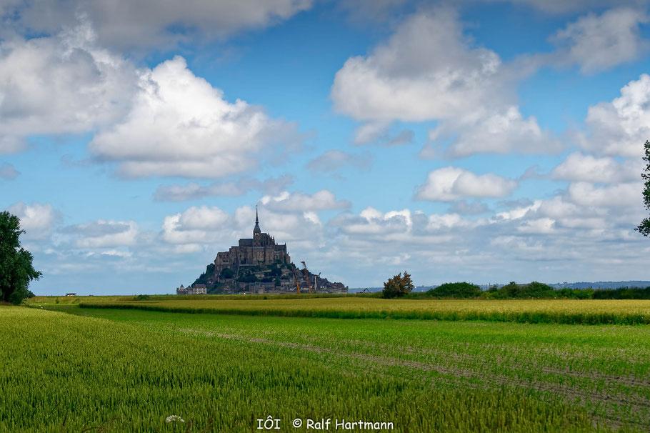 Bild: Blick auf den Mont-Saint-Michel