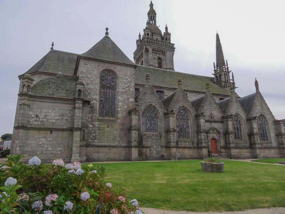 Bild: Kirche Notre-Dame de Saint-Thégonnec in