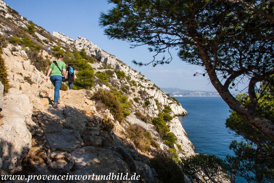 Bild: Wanderung an der Côte Bleue