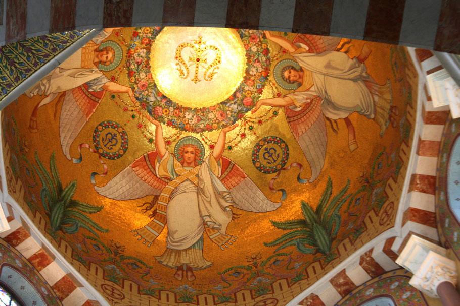 Bild: Basilique Notre-Dame-de-la-Garde, Marseille