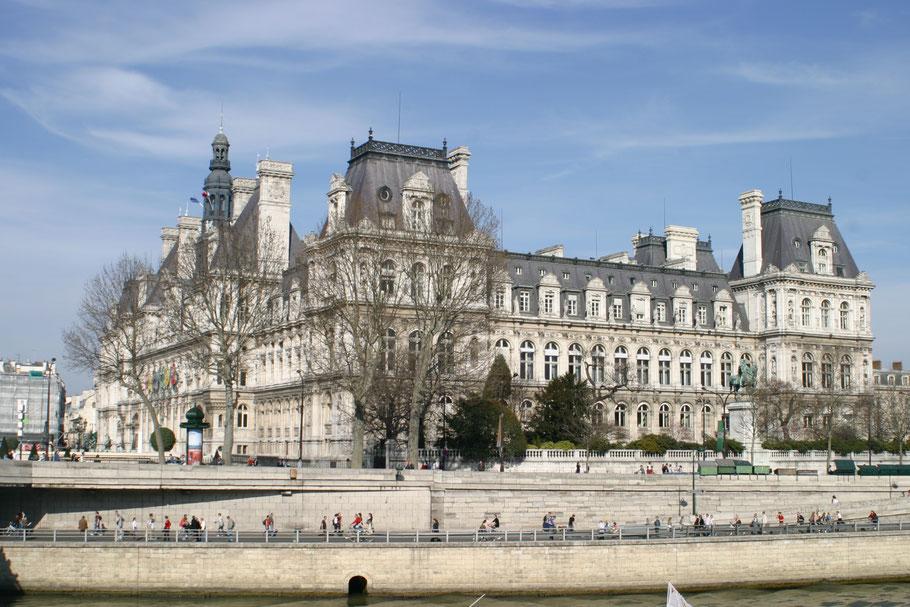 Bild: Hotel de Ville das Rathaus der Stadt Paris