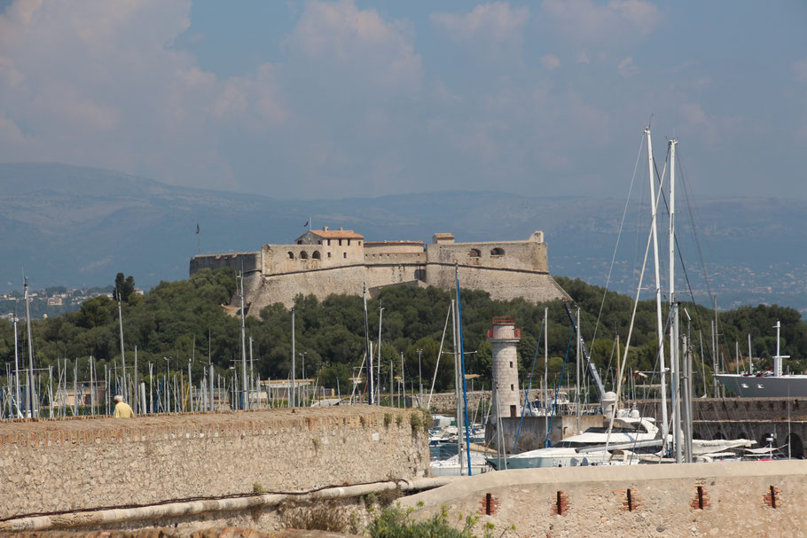 Bild: Fort Carré in Antibes