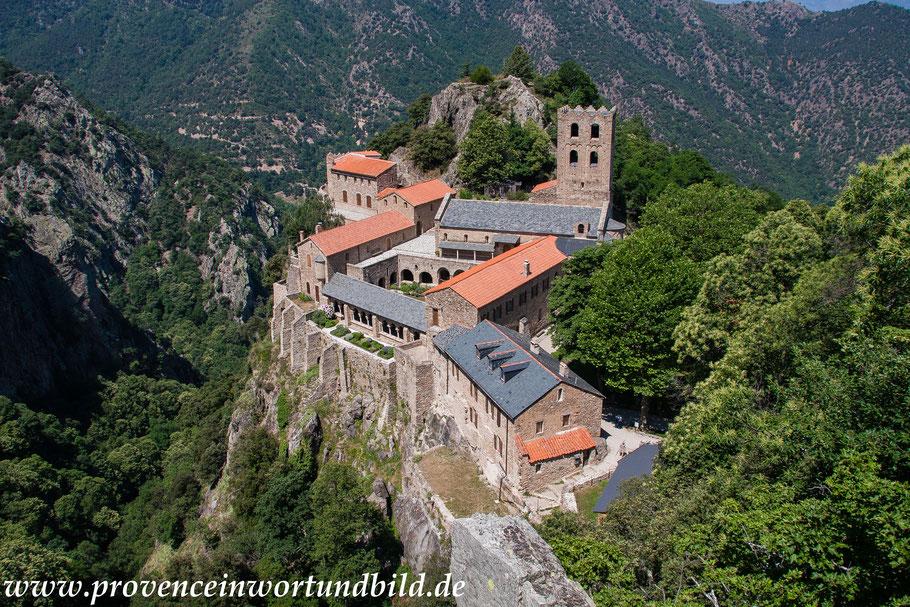 Bild: Abbaye de Saint-Martin-Du-Canigou