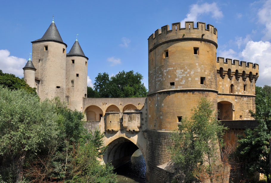 Bild: Porte des Allemands in Metz