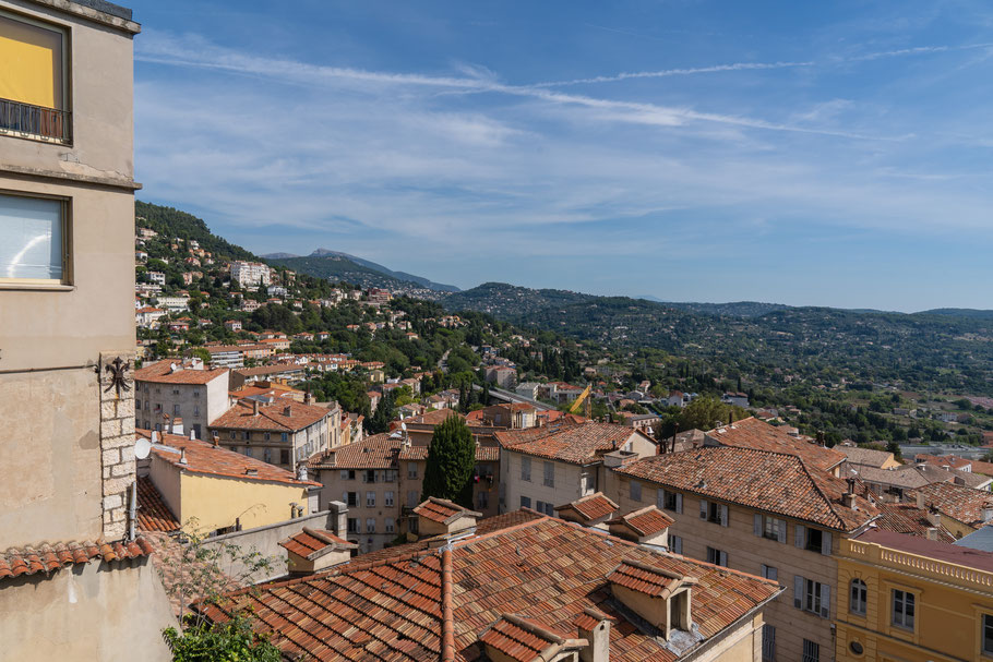 Bild: Grasse im Département Alpes Maritimes