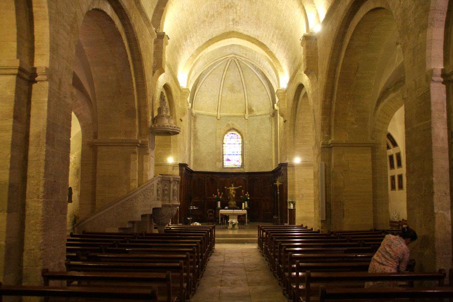 Bild: Kirche in Châteauneuf du Pape