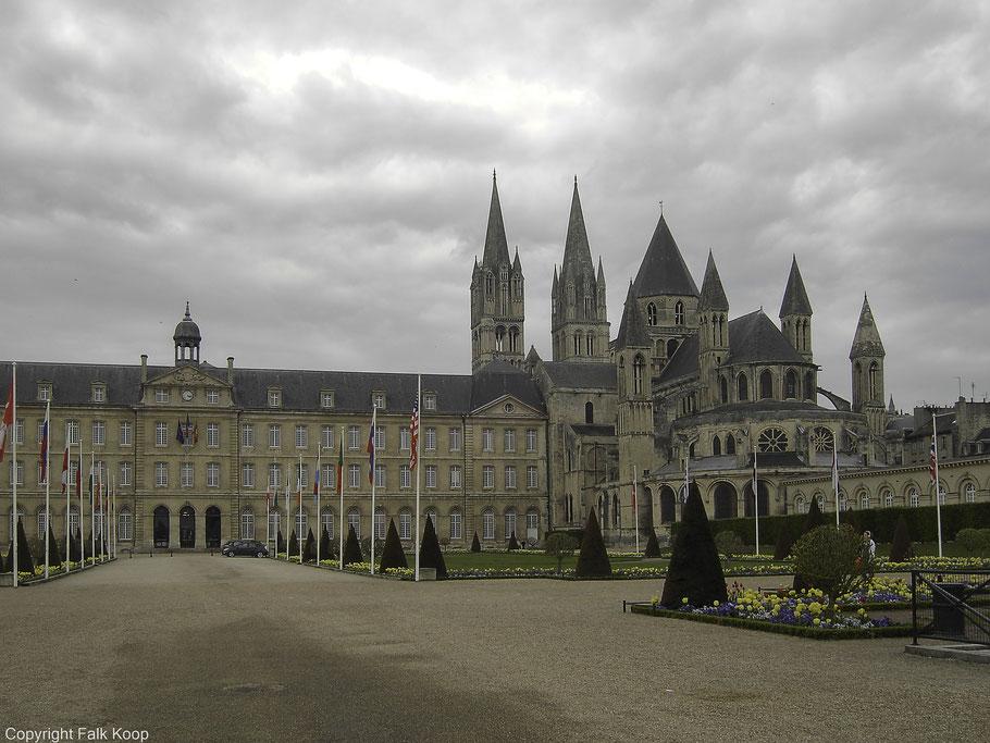 Bild: Église St-Étienne de Caen in Caen, Normandie