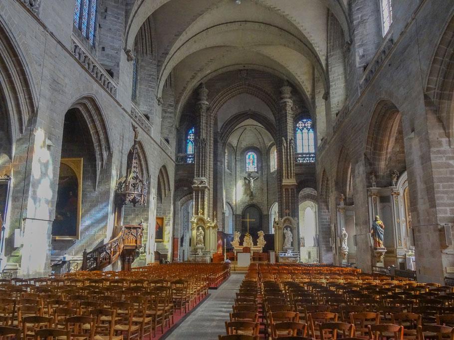 Bild: Blick auf den Chor der Cathédrale St.-Pierre in Vannes