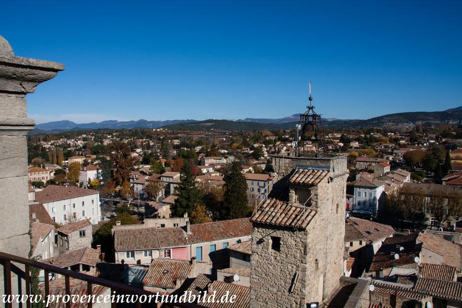 Bild: Blick auf Malaucène, Vaucluse, Provence