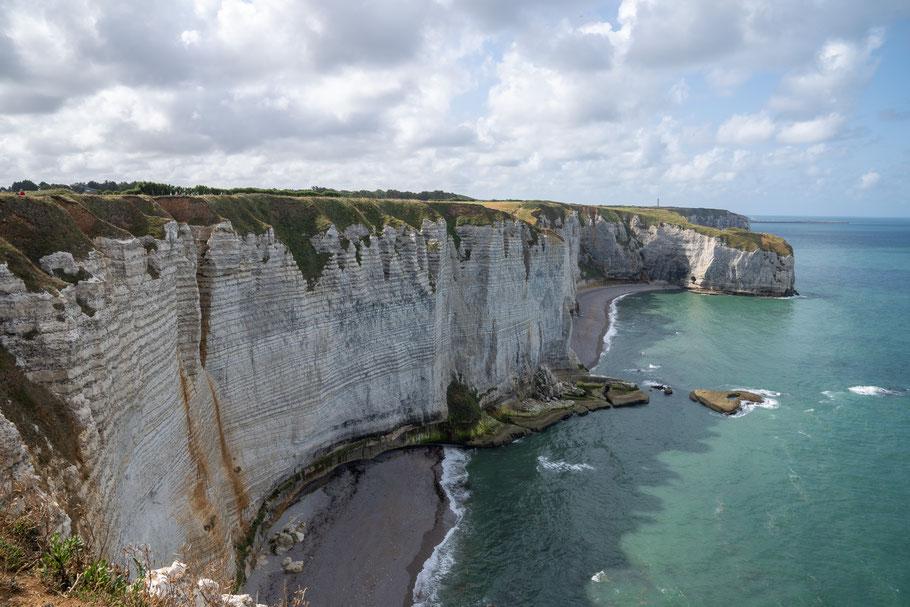 Bild: Felsenküste Étretat, Pointe de la Courtine