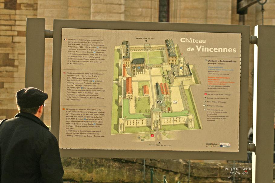 Bild: Château de Vincennes in Paris
