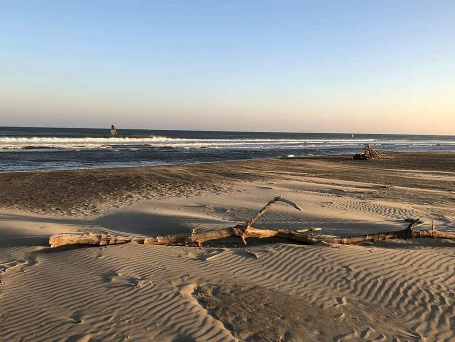 Bild: Strand in Gruissan