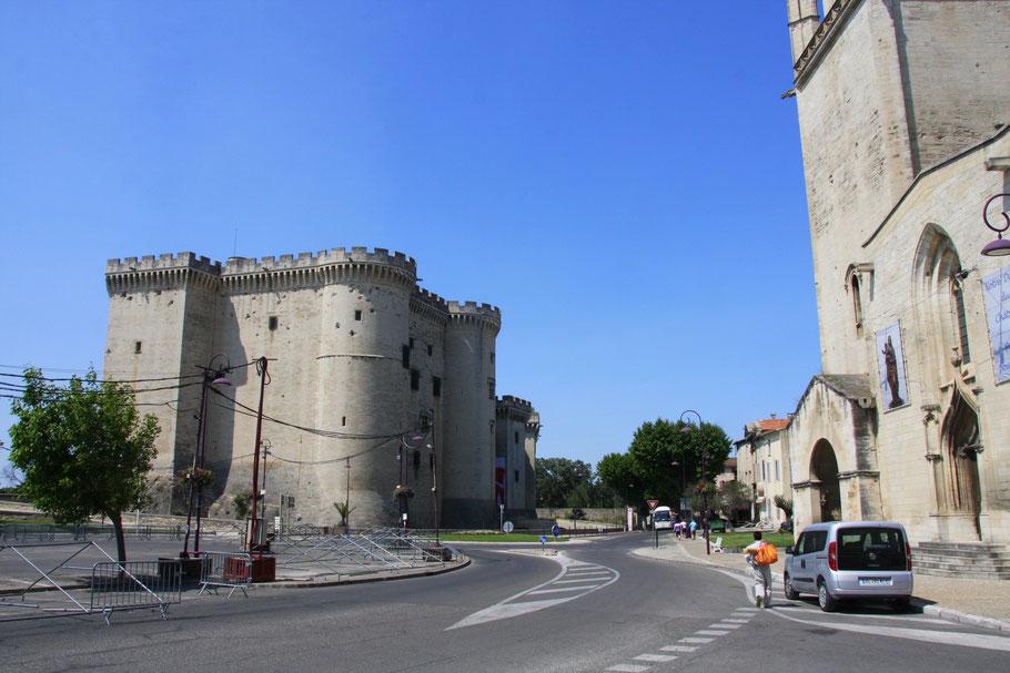 Bild: Château de Tarascon in Tarascon