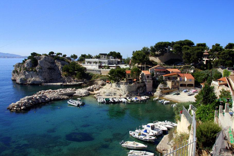 Bild: Hafen von Niolon an der Côte Bleue