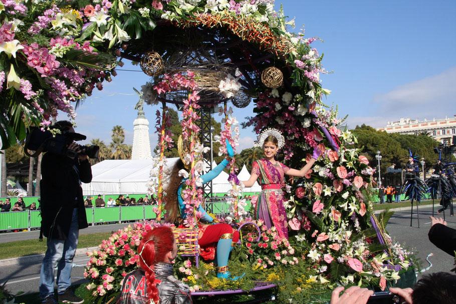 Bild: Carneval in Nice (Nizza), Provence