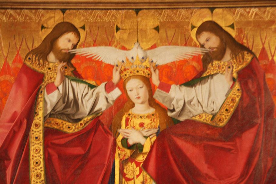 Marienkrönung von Enguerrand Quartons 1453-1454