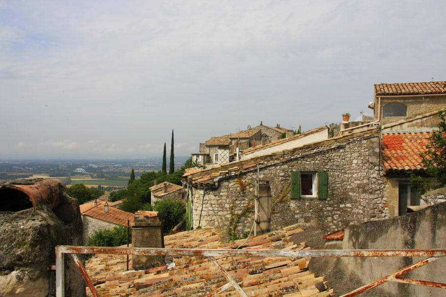 Bild: Dächer von La Garde-Adhémar