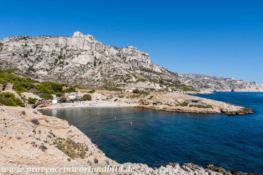 Bild: Wanderung bei Callelongue zur Calanque Marseilleveyre, hier Calanque Marseilleveyre