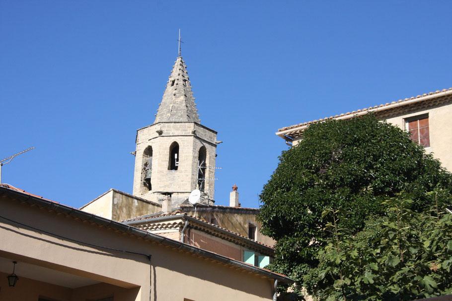 Bild: Kirche von Mazan, Vaucluse, Provence
