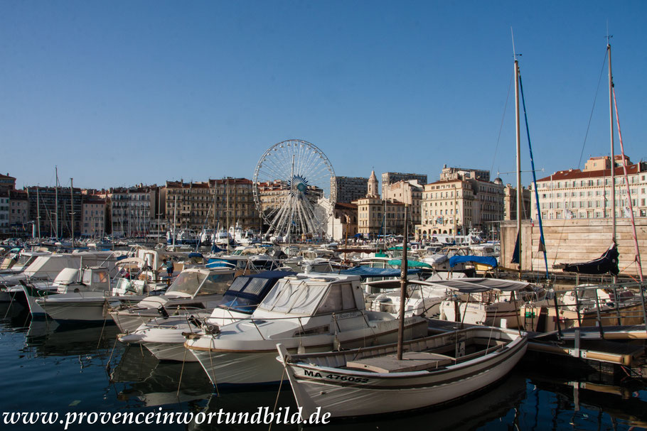 Bild: am alten Hafen von Marseille
