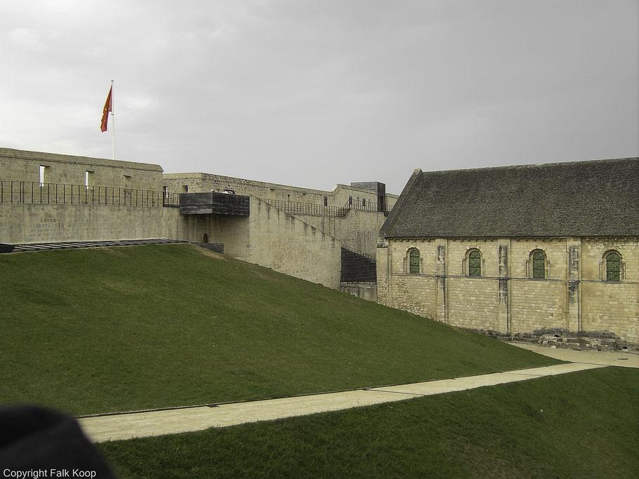 Bild: Château Ducal in Caen