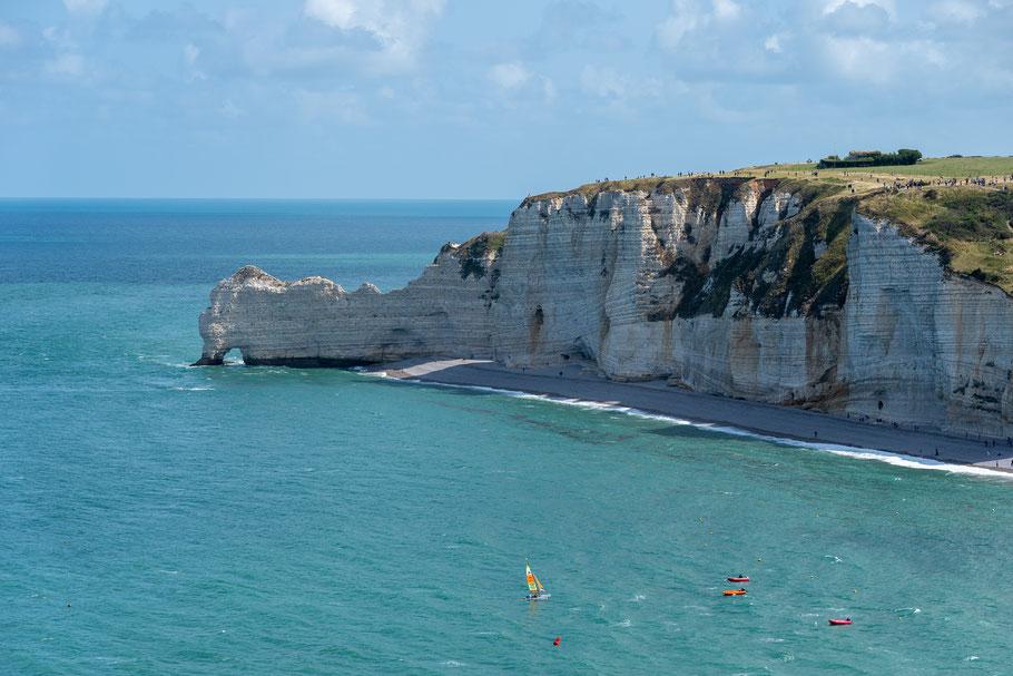 Bild: Felsenküste Étretat, Porte d´Amont