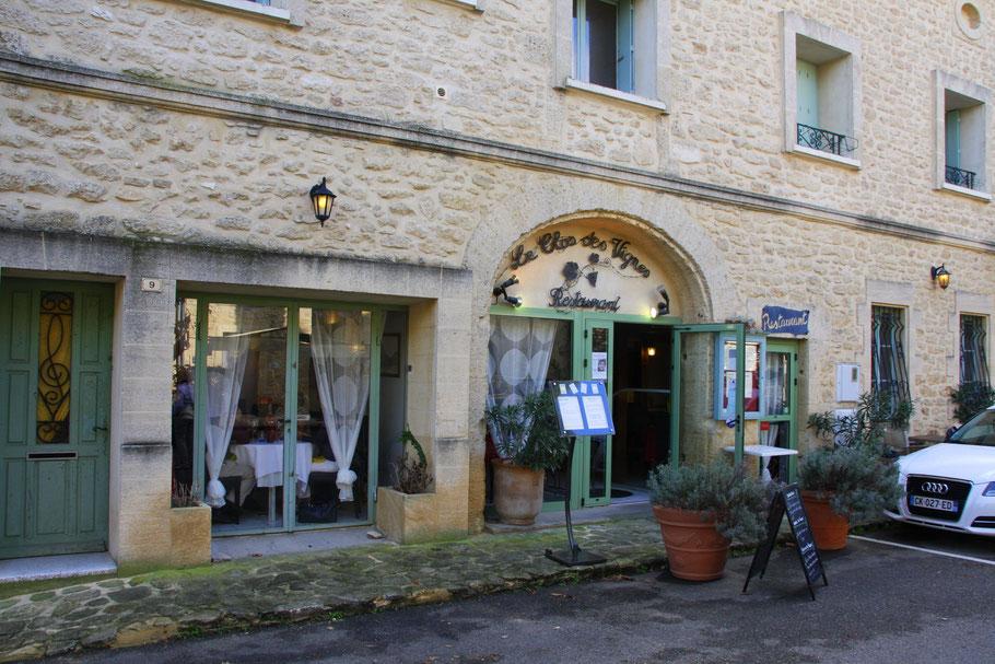 Bild: Restaurant Le Clos des Vignes, Castillon du Gard