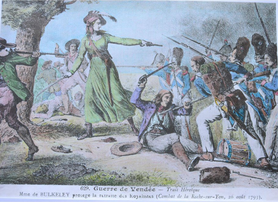 (colorisierter Stich, ca. 1820, Autor unbekannt)