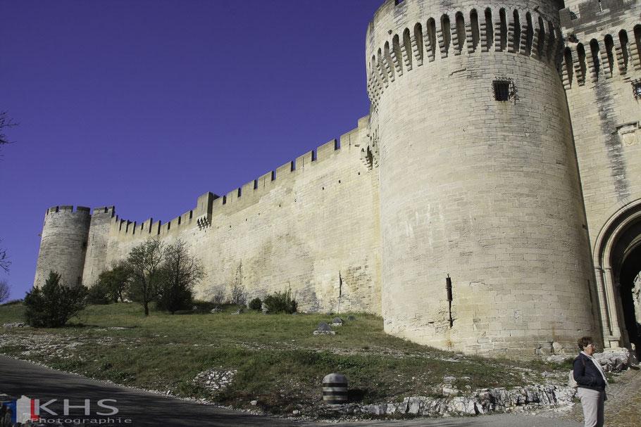 Bild: Villeneuve-lés-Avignon Fort Sait-André