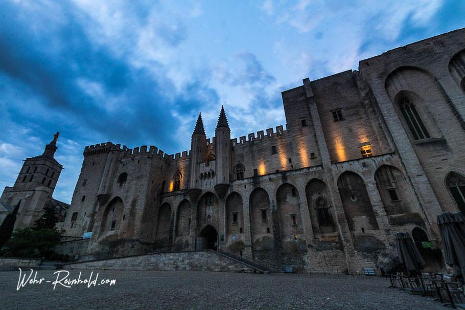 Bild: Palais des Papes, Avignon