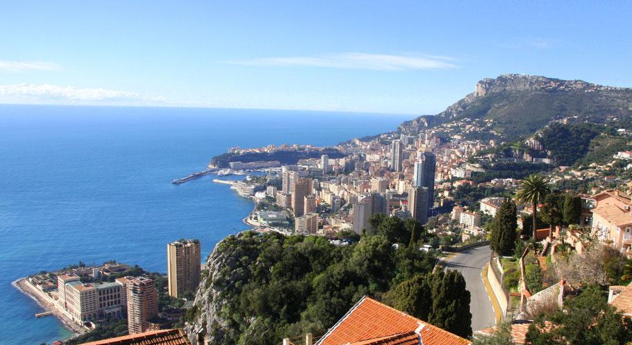 Bild: Blick auf Monaco