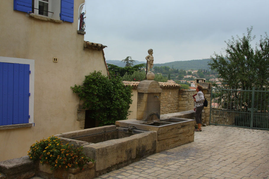 Bild: La Fontaine de l´Angle, Caromb