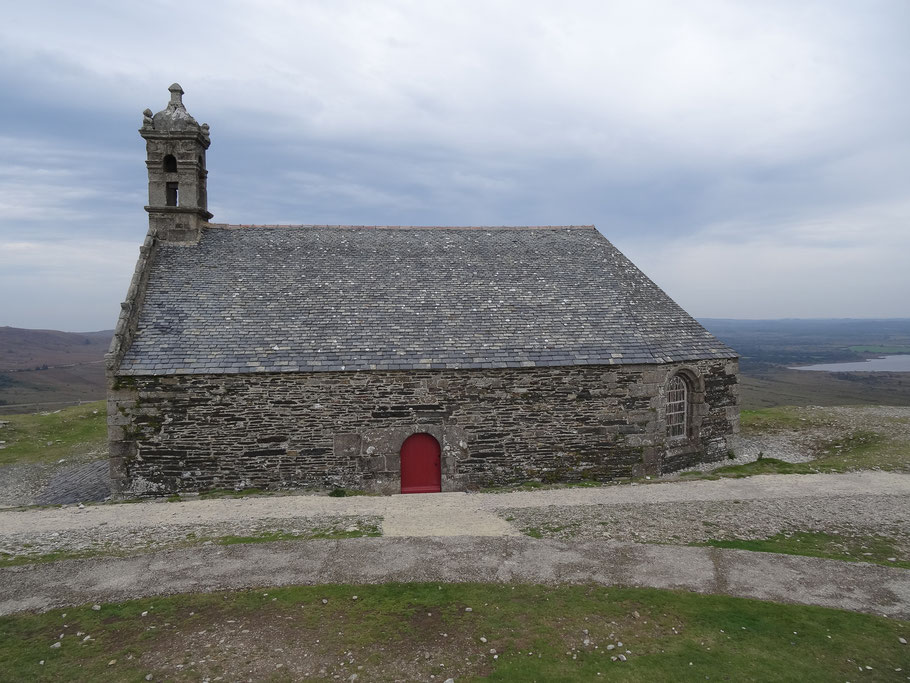 Bild: Montagne St. Michel, Gipfelkapelle