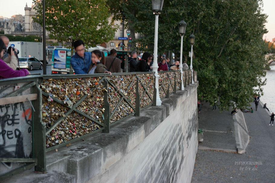 Bild: Liebesschlösser an den Brücken in Paris
