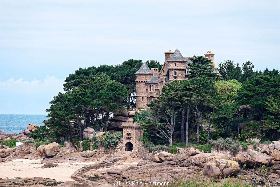 Bild: Schloss Costaérès in Ploumanac´h