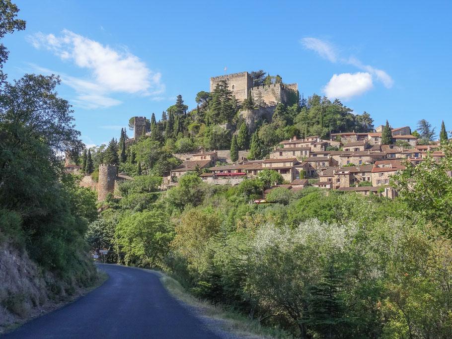 Bild: Blick auf Castelnou