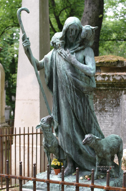 Bild: Cimitiere Père Lachaise in Paris