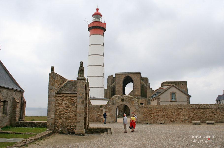 Bild: Abbaye Saint-Mathieu de Fine Terre und Notre-Dame-de-Grâce