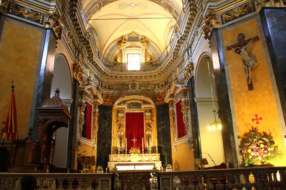 Bild: Cathédral Sainte-Réparate Hauptaltar in Nice