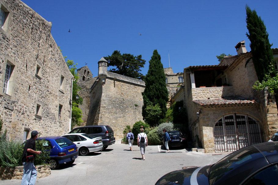 Bild: Auf dem Weg zum Château Ansouis