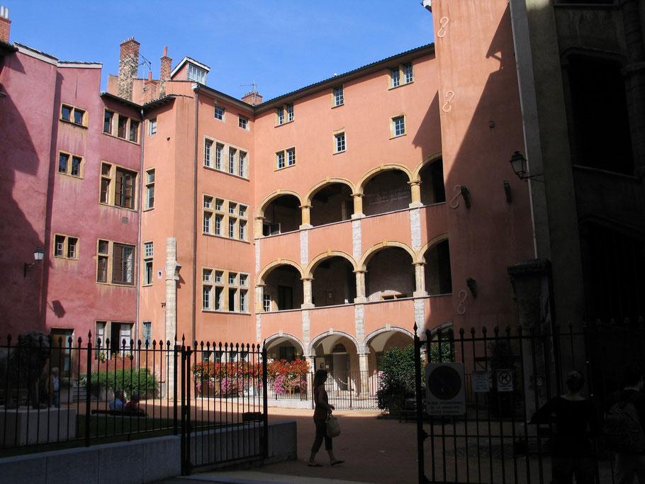 Bild: Advokatenhaus in der Rue de la Bombarde in Lyon