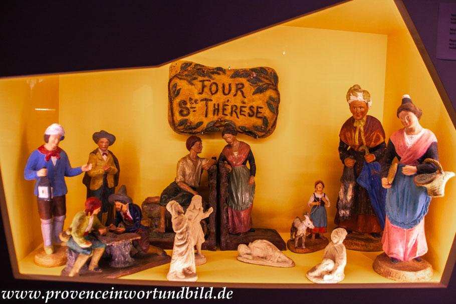Bild: Santons in der Cité de l`Art Santonnier Thérèse Neveu, Aubagne