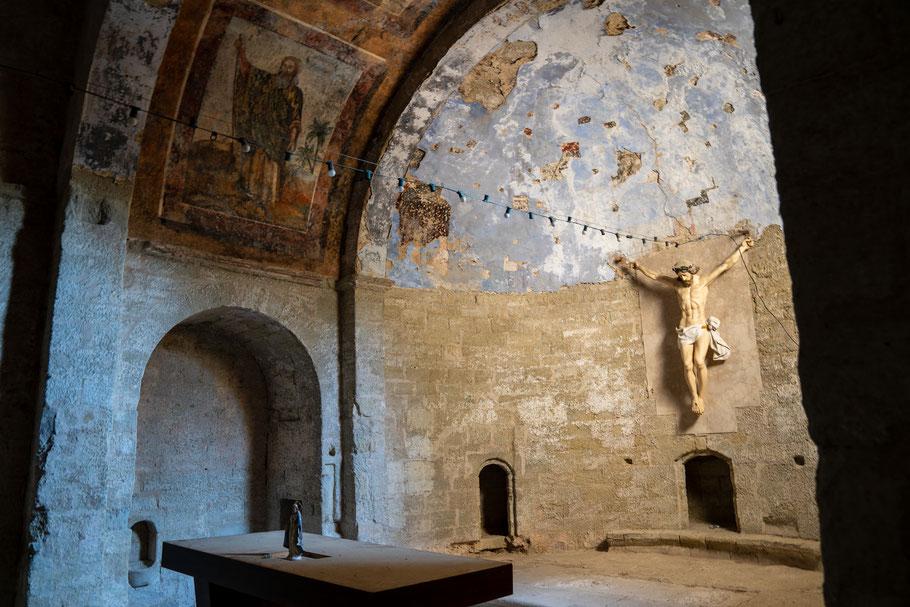 Bild: Mazan im Vaucluse mit Chapelle Notre-Dame de Parleloup