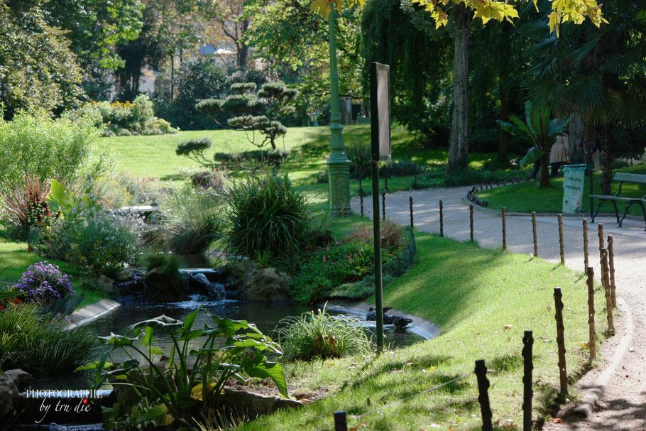 Bild: Park Square des Batignolles in Par is