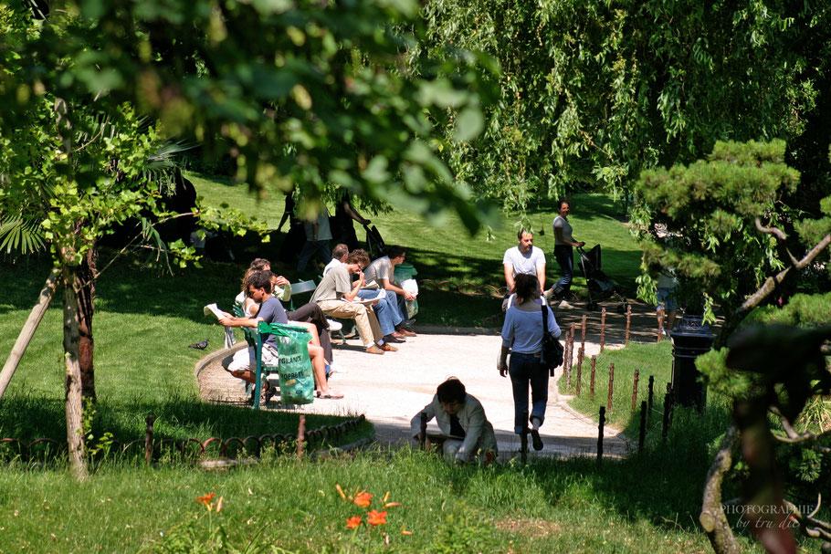 Bild: Park Square des Batignolles in Paris