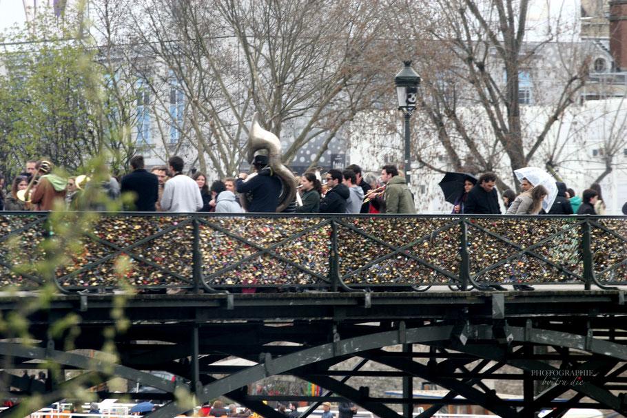 Bild: Pont des Artes im Jahre in Paris